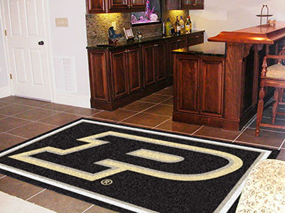 The Purdue  Boilermakers Area Rug Size 5x8, Fan Mats 16832
