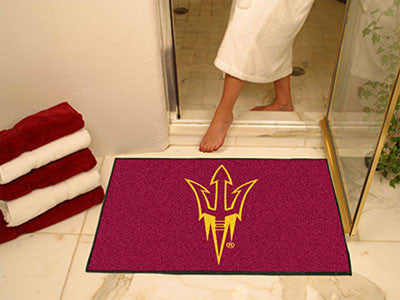 The ASU Sun Devils Pitchfork Logo All Star Mat - Fan Mats 17140