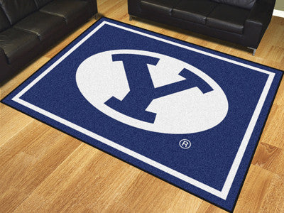 The BYU Cougars 8x10 Area Rug - Fan Mats 17399