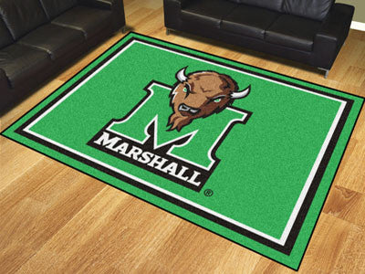 The Marshall  Thundering Herd 8x10 Area Rug - Fan Mats 17410