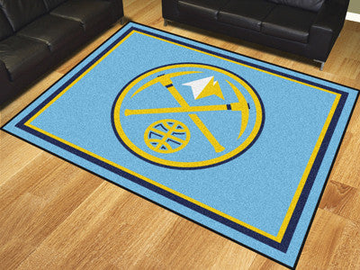 Denver Nuggets 8 x 10 Area Rug FanMats 17449