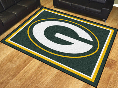 Green Bay Packers 8 x 10 Area Rug FanMats 17482