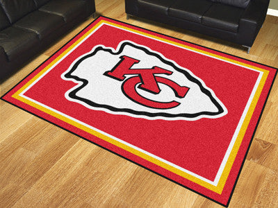 Kansas City Chiefs 8 x 10 Area Rug FanMats 17486