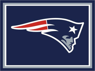New England Patriots 8 x 10 Area Rug FanMats 17489