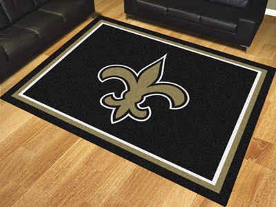 New Orleans Saints 8 x 10 Area Rug FanMats 17490