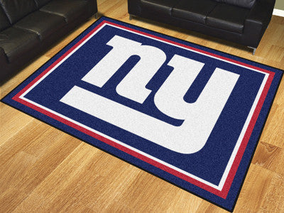 New York Giants 8 x 10 Area Rug FanMats 17491