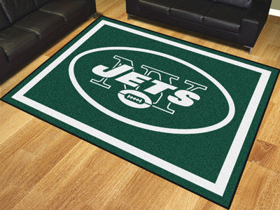 New York Jets 8 x 10 Area Rug FanMats 17492