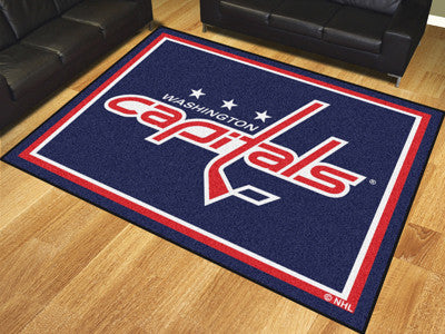 Washington Capitals 8 x 10 Area Rug FanMats 17531