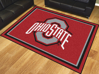 The OSU Buckeyes 8x10 Area Rug - Fan Mats 17535