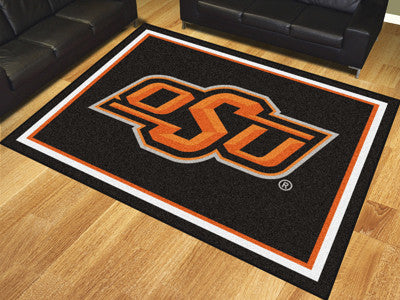 The OSU Cowboys 8x10 Area Rug - Fan Mats 17536