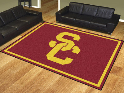 The USC Trojans 8x10 Area Rug - Fan Mats 17547