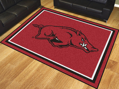 The Arkansas Razorbacks 8x10 Area Rug - Fan Mats 17549