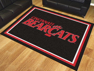 The UC Bearcats 8x10 Area Rug - Fan Mats 17550