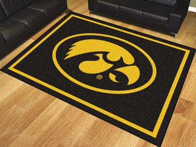 The Iowa Hawkeyes 8x10 Area Rug - Fan Mats 17554