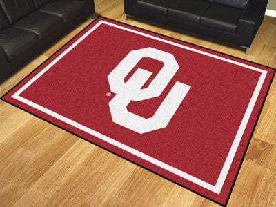 The OU Sooners 8x10 Area Rug - Fan Mats 17565