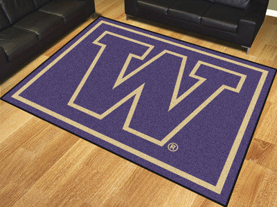 The UW Huskies 8x10 Area Rug - Fan Mats 17572