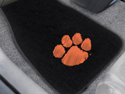 the Clemson  Tigers Embroidered Automotive Floor Mats - FanMats 17606