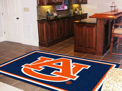 The Auburn  Tigers Area Rug Size 5x8, Fan Mats 17982
