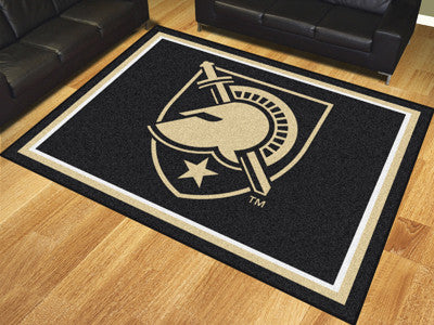 The USA Black Knights 8x10 Area Rug - Fan Mats 18125
