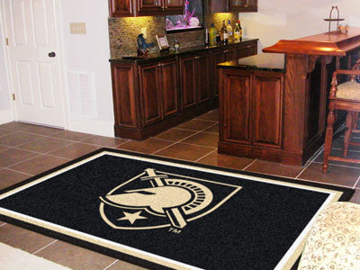 The USA Black Knights Area Rug Size 5x8, Fan Mats 18245