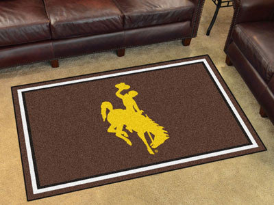 Wyoming Cowboys 4' x 6' Area Rug - FanMats 18563