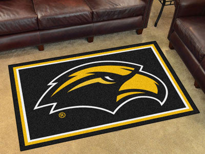 Southern Miss Golden Eagles 4' x 6' Area Rug - FanMats 18594