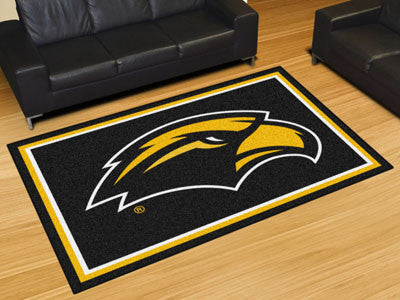 The Southern Miss Golden Eagles Area Rug Size 5x8, Fan Mats 18595