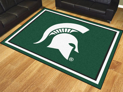 The MSU Spartans 8x10 Area Rug - Fan Mats 18905