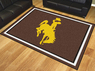 The Wyoming Cowboys 8x10 Area Rug - Fan Mats 18910
