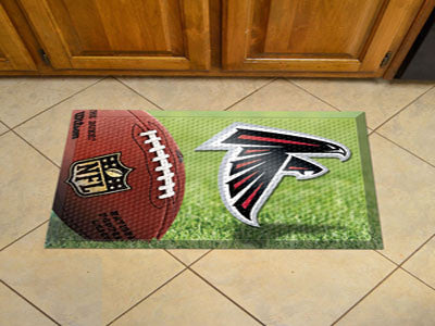 The Atlanta Falcons Ball Scraper Mat - FanMats 18938