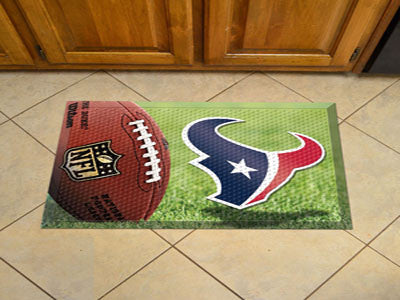 The Houston Texans Ball Scraper Mat - FanMats 18960