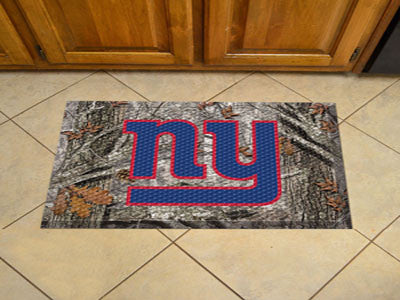 The New York Giants Camo Scraper Mat - FanMats 18981