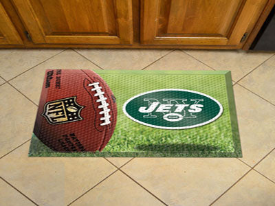 The New York Jets Ball Scraper Mat - FanMats 18982