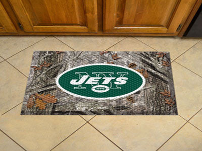 The New York Jets Camo Scraper Mat - FanMats 18983