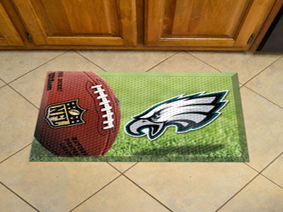The Philadelphia Eagles Ball Scraper Mat - FanMats 18986