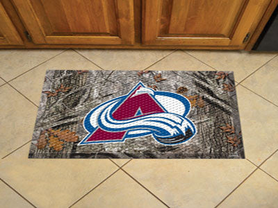The Colorado Avalanche Camo Scraper Mat - FanMats 19137