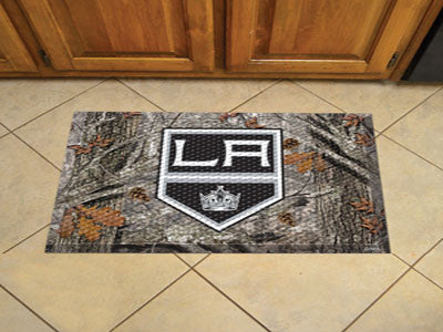 The Los Angeles Kings Camo Scraper Mat - FanMats 19149