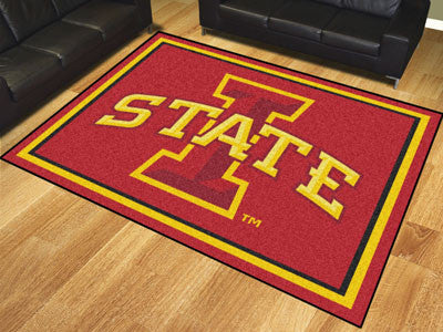 The ISU Cyclones 8x10 Area Rug - Fan Mats 19241