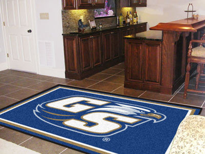 The Georgia Southern  Eagles Area  Version 1 Rug Size 5x8, Fan Mats 19619