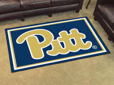 Pitt Panthers 4' x 6' Area Rug - FanMats 19664