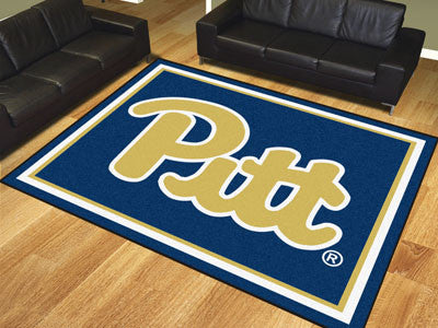 The Pitt Panthers 8x10 Area Rug - Fan Mats 19666