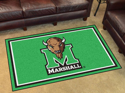 Marshall  Thundering Herd 4' x 6' Area Rug - FanMats 19717
