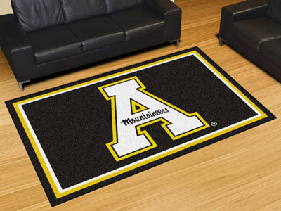 The ASU Mountaineers Area Rug Size 5x8, Fan Mats 20108