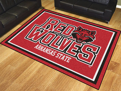 The ASU Red Wolves 8x10 Area Rug - Fan Mats 20115