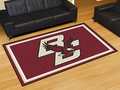 The BC Eagles Area Rug Size 5x8, Fan Mats 20120