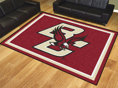 The BC Eagles 8x10 Area Rug - Fan Mats 20121