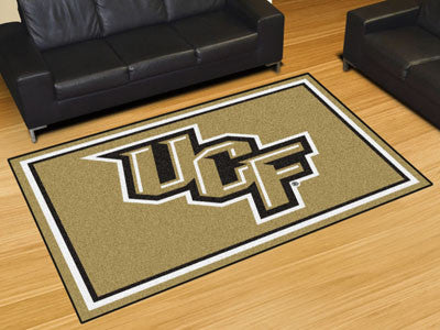 The UCF Knights Area Rug Size 5x8, Fan Mats 20123