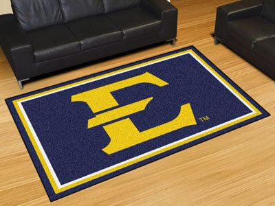 The ETSU Buccaneers Area Rug Size 5x8, Fan Mats 20151