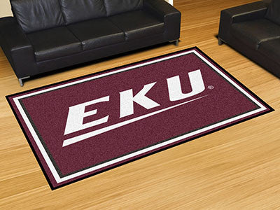 The EKU Colonels Area Rug Size 5x8, Fan Mats 20154