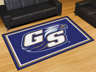 The Georgia Southern  Eagles Area Rug Size 5x8, Fan Mats 20175